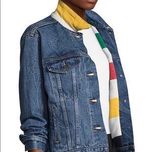 Hudson's Bay Levi's Denim Trucker jacket XS